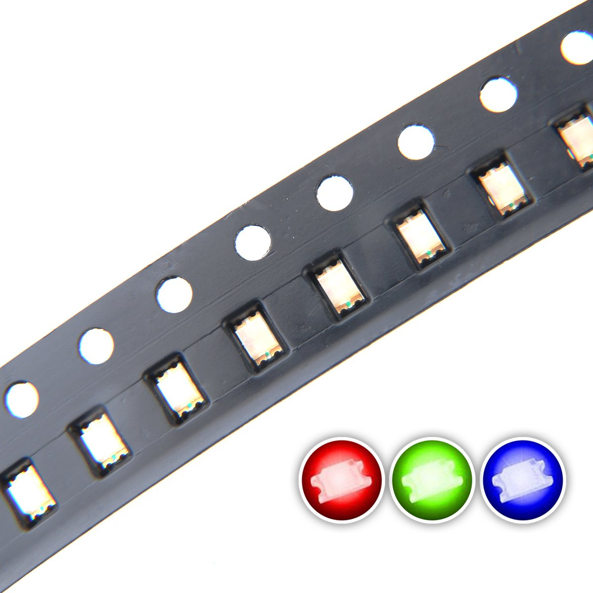 0805 SMD LED Diode Lights Chips Emitting White/Red/Green/Blue/Yellow/Purple/Pink