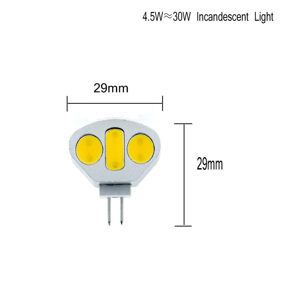 3W 4.5W G4 Cabinet Light DC12V Home Light LED Bulb Light