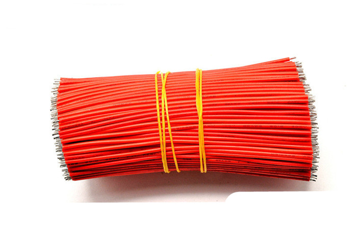 Two-headed Tin plated Electronic Wire Cable AWG24 300V DC 80 °C