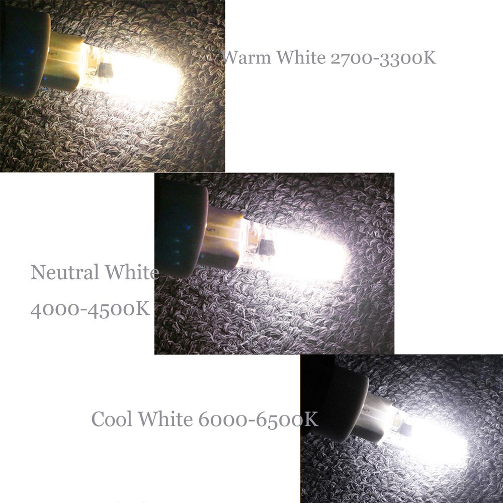 3W G4 2835 SMD Halogen Bulb AC/DC12-24V Home Light LED Silica Gel Lamp