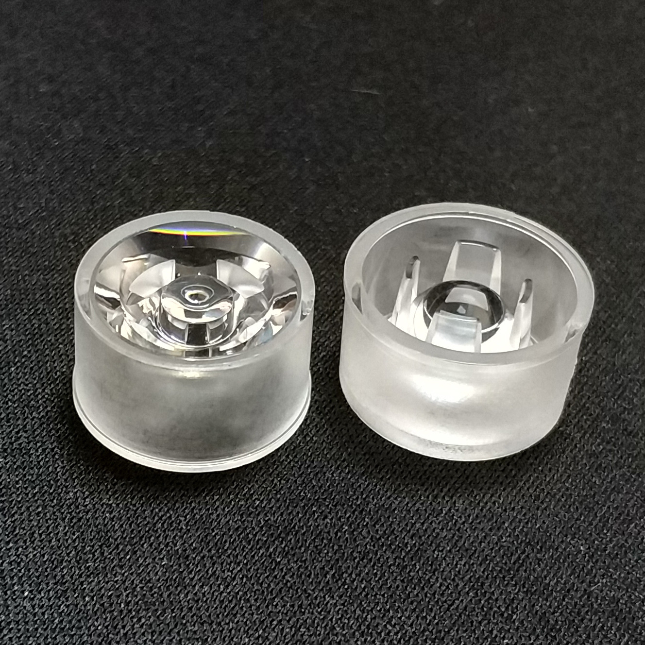 15mm 18mm Diameter LED Lens Waterproof Lens For Bridgelux LED