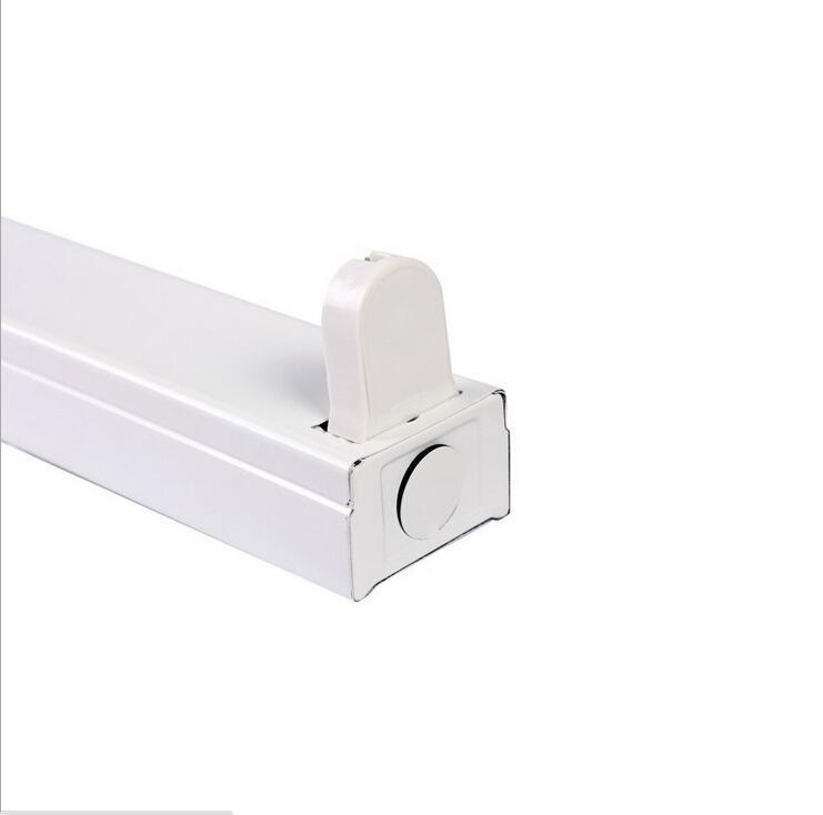 T8 LED Tube Aluminum Bracket 0.6m 0.9m 1.2m For T8 Single Tube Light