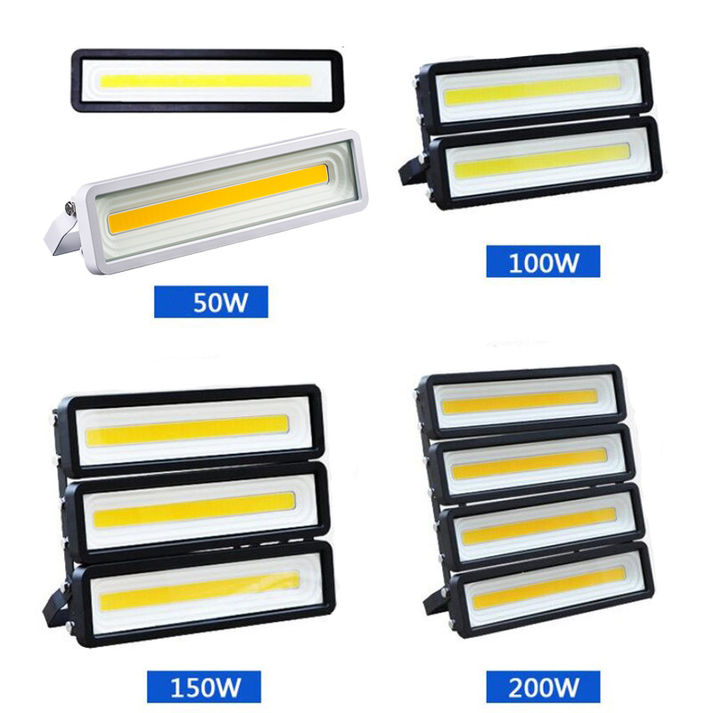 LED Floodlight 50W 100W 150W 200W LED Outdoor Garden Housing Flood Light 2