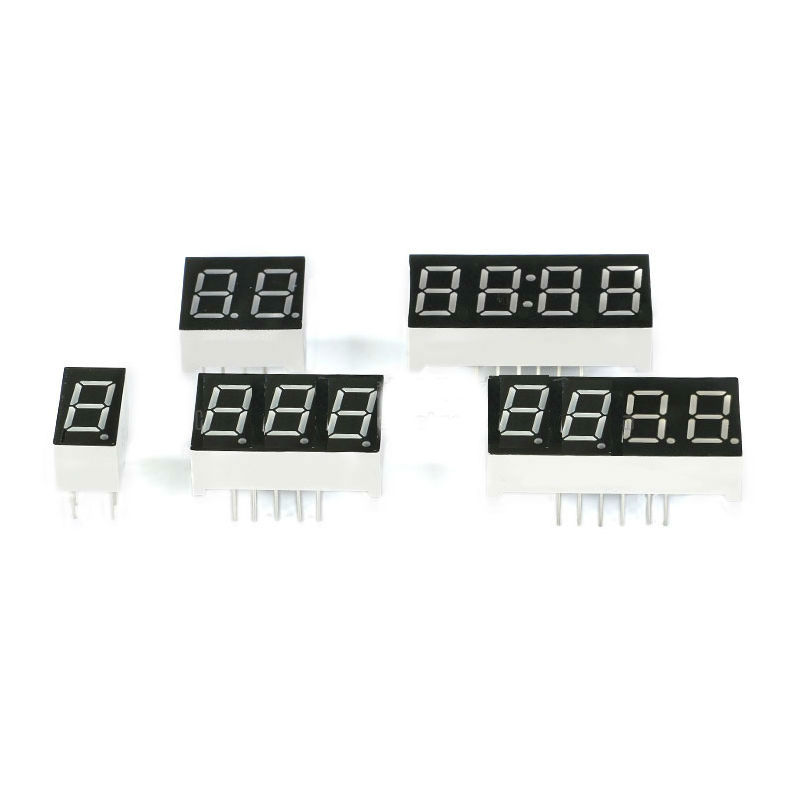 0.36 Inch 1-4bit Digital Tube Red LED Digit Display 7 Segment Common Anode Common Cathode
