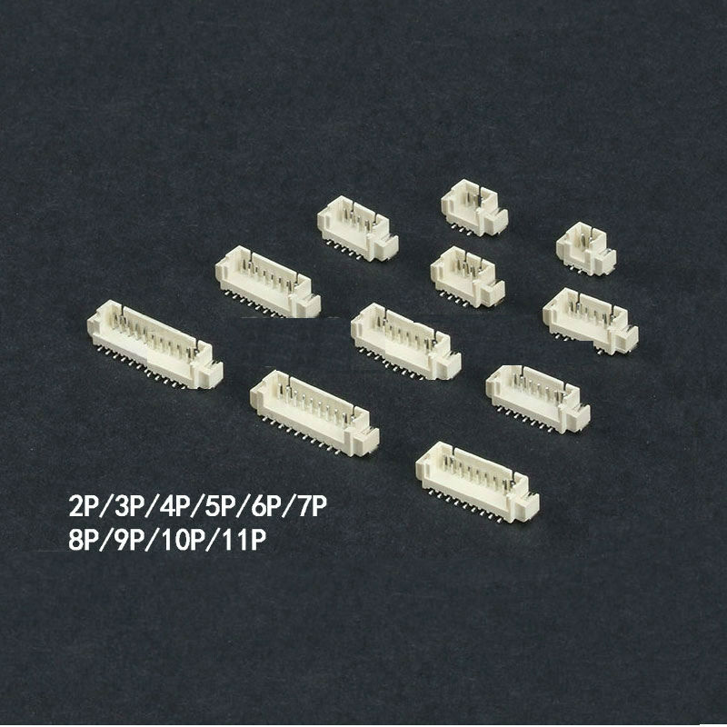 1.25mm Stand Male Connector 2P~11P