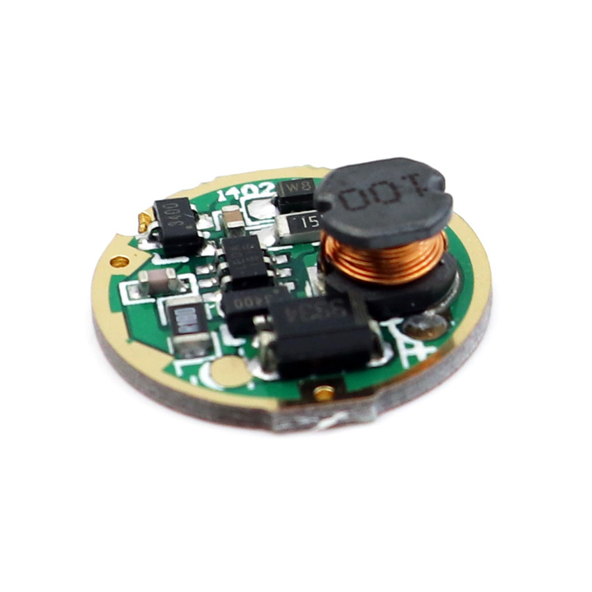 17mm Flashlight LED Driver for XM-L XM-L2 Flashlight Light Input DC3-18V Output 2.92V 0.93A 1 Modes