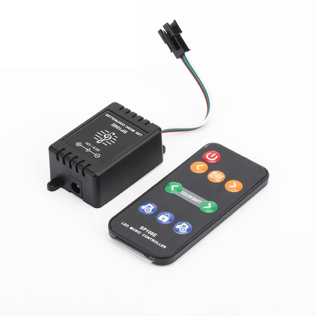 2.4Ghz RF Music Control Remote Controller for 1903 /2811 /2812 /16703 /1914