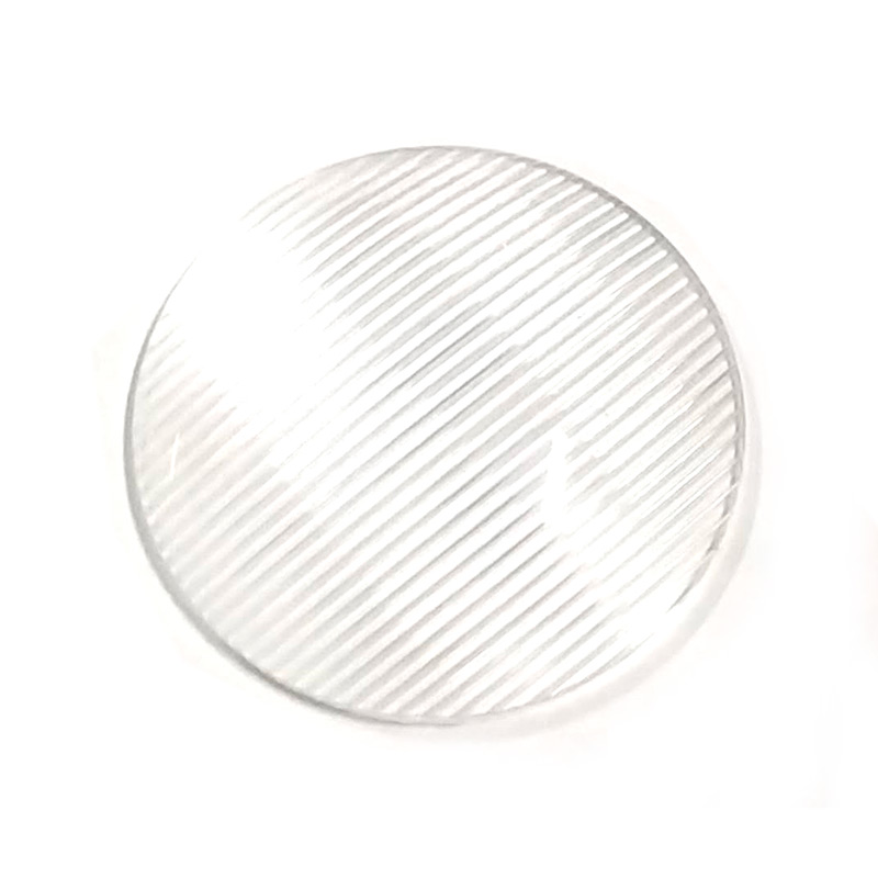 48.35mm Diameter LED Lens Convex Strip For High Power LED