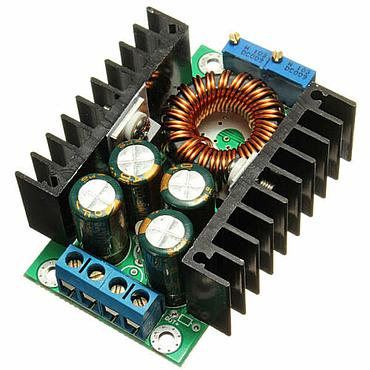 DC-DC Converter 24V to 12V Step Down Power Supply Module QS-2405CCBD-12A