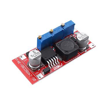 DC-DC 7-35V to 1.25-30V CC CV LED Buck Converter Power Supply Charging Module QS-2405CCBD-15W